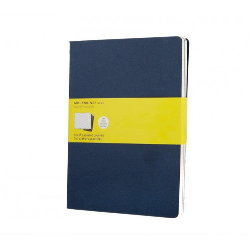 Moleskine Cahier XLarge Squared Notebook-Notebook-Moleskine-Cahier Navy XLarge Squared-Applebee