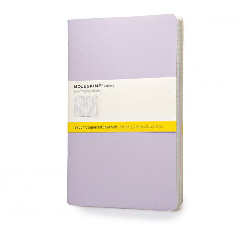 Moleskine Cahier Large Squared Notebook-Notebook-Moleskine-Cahier Pastel Large Squared-Applebee