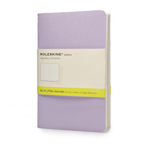 Moleskine Cahier Pocket Plain Notebook-Notebook-Moleskine-Cahier Pastel Pocket Plain-Applebee