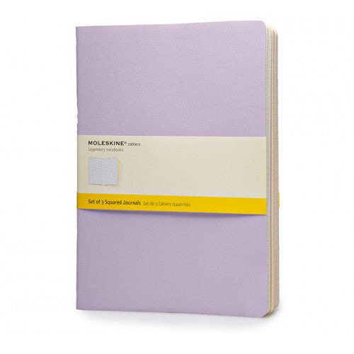 Moleskine Cahier XLarge Squared Notebook-Notebook-Moleskine-Cahier Pastel XLarge Squared-Applebee