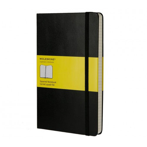 Moleskine Classic Large Squared Notebook-Notebook-Moleskine-Classic Black Large Squared-Applebee