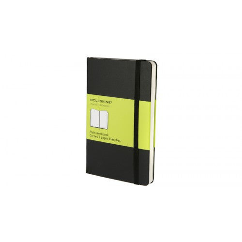 Moleskine Classic Pocket Plain Notebook-Notebook-Moleskine-Classic Black Pocket Plain-Applebee