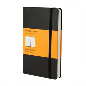 Moleskine Classic Pocket Ruled Notebook
