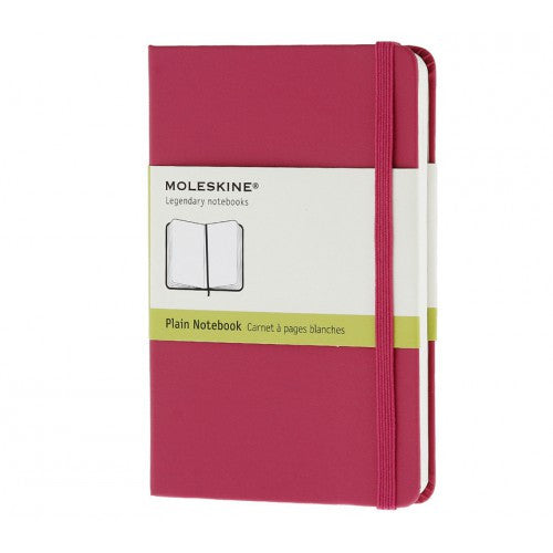 Moleskine Classic Pocket Plain Notebook-Notebook-Moleskine-Classic Magenta Pocket Plain-Applebee