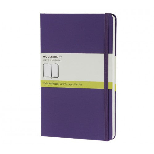 Moleskine Classic Pocket Plain Notebook-Notebook-Moleskine-Classic Violet Pocket Plain-Applebee