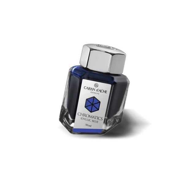 Caran d'Ache Ink Bottle Idyllic Blue
