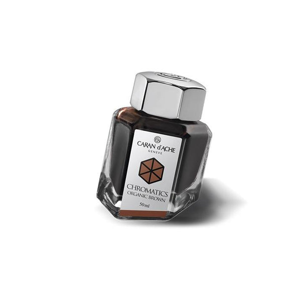 Caran d'Ache Ink Bottle Organic Brown