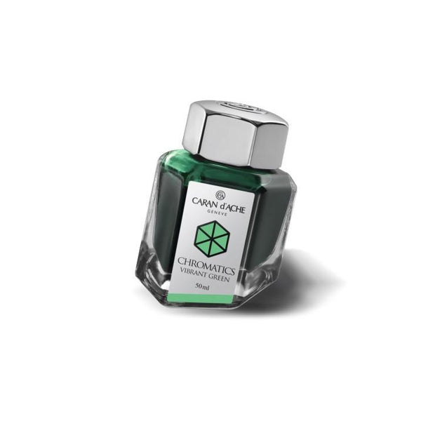 Caran d'Ache Ink Bottle Vibrant Green