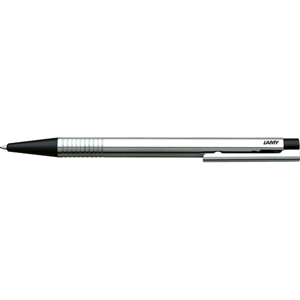 LAMY Logo Ballpoint Pen-Ballpoint pen-Lamy-Stainless Steel Black Finish-Applebee