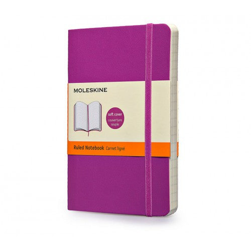 Moleskine Soft Classic Large Ruled Notebook-Notebook-Moleskine-Orchid Purple-Applebee