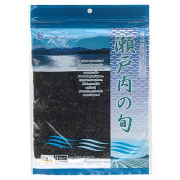 "Japanese Premium Toasted Nori ""Setouchi"" 10 sheets"