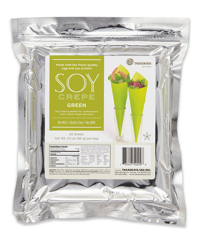 Soy Crepe Green (20 sheets)