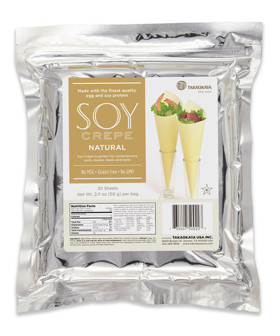 Soy Crepe Natural (20 sheets)