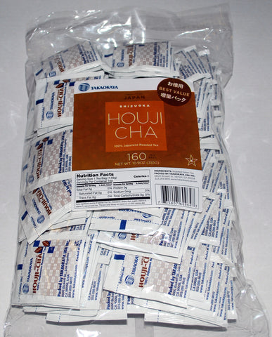 """Houji Cha"" Toasted Green Tea - Super Value Pack 160 Count"