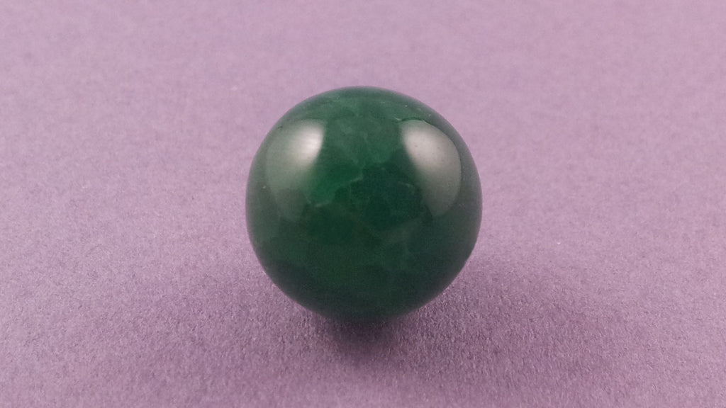 Agate Gemstone - Green (L)