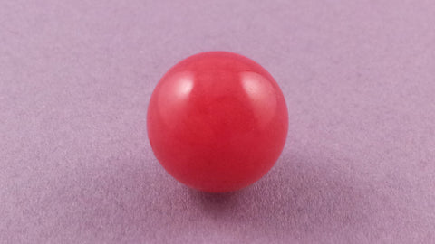 Jade Gemstone - Cherry Red (L)