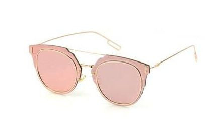 Rose Gold Lucid Sunglasses