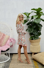 Load image into Gallery viewer, Pinky Flora Mini Dress