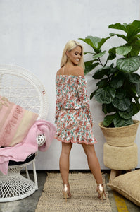 Pinky Flora Mini Dress