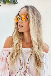 Golden Glow Sunglasses