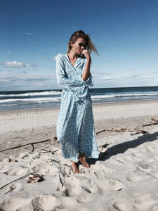 Boho Mermaid Wrap Maxi