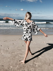 California Palm Playsuit