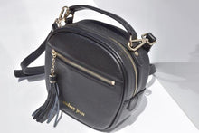 Load image into Gallery viewer, Starry Black Luxe Litte Leather Bag
