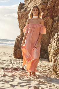 Dust Temple Off the Shoulder Maxi