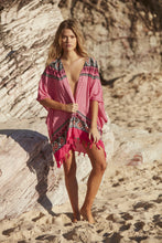Load image into Gallery viewer, Pink Dust Kimono