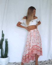 Load image into Gallery viewer, Pink Delilah Frill Skirt