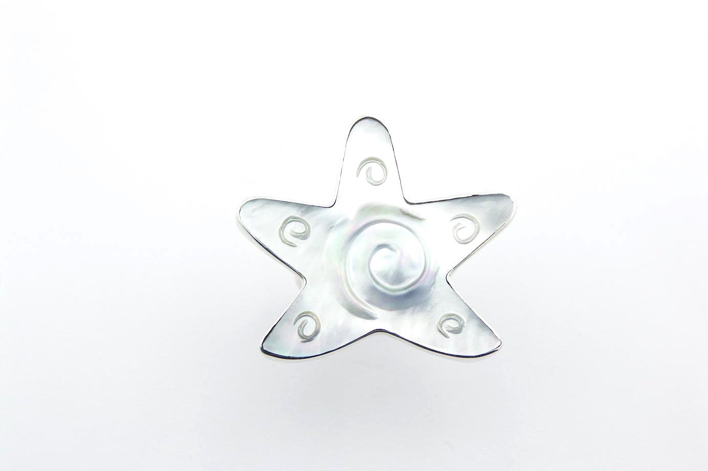 Shell Star Ring