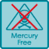 Mercury free lamp