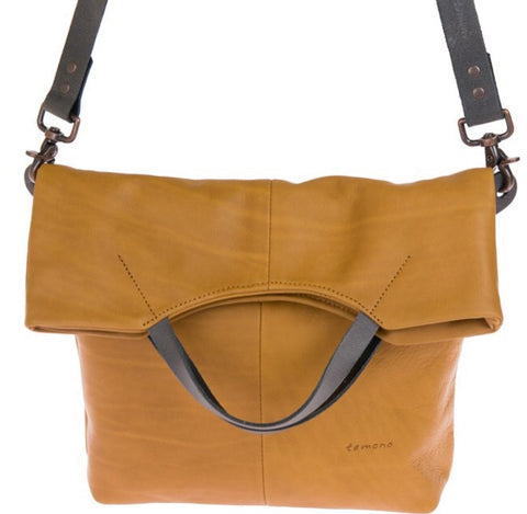 Hand crafted leather bags by temono