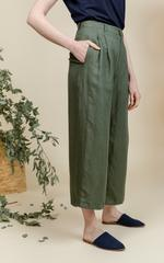 Avocado Linen Pants