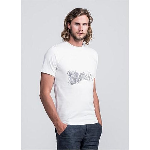 Men's fair trade organic cotton t-shirt by Untouched World, leaders in slow fashion