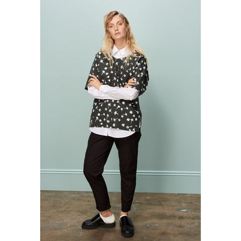 Fair trade organic cotton box cut top by Kowtow Clothing