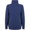 Women's cashmere roll neck sweater by Mia Fratino, perfect for winter