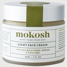 Made in Australia from certified organic ingredients,, the Mokosh Light Face Cream is perfect for most skin care regimes