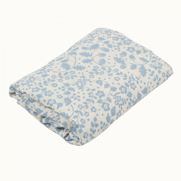 Organic cotton muslin wrap by Nature Baby