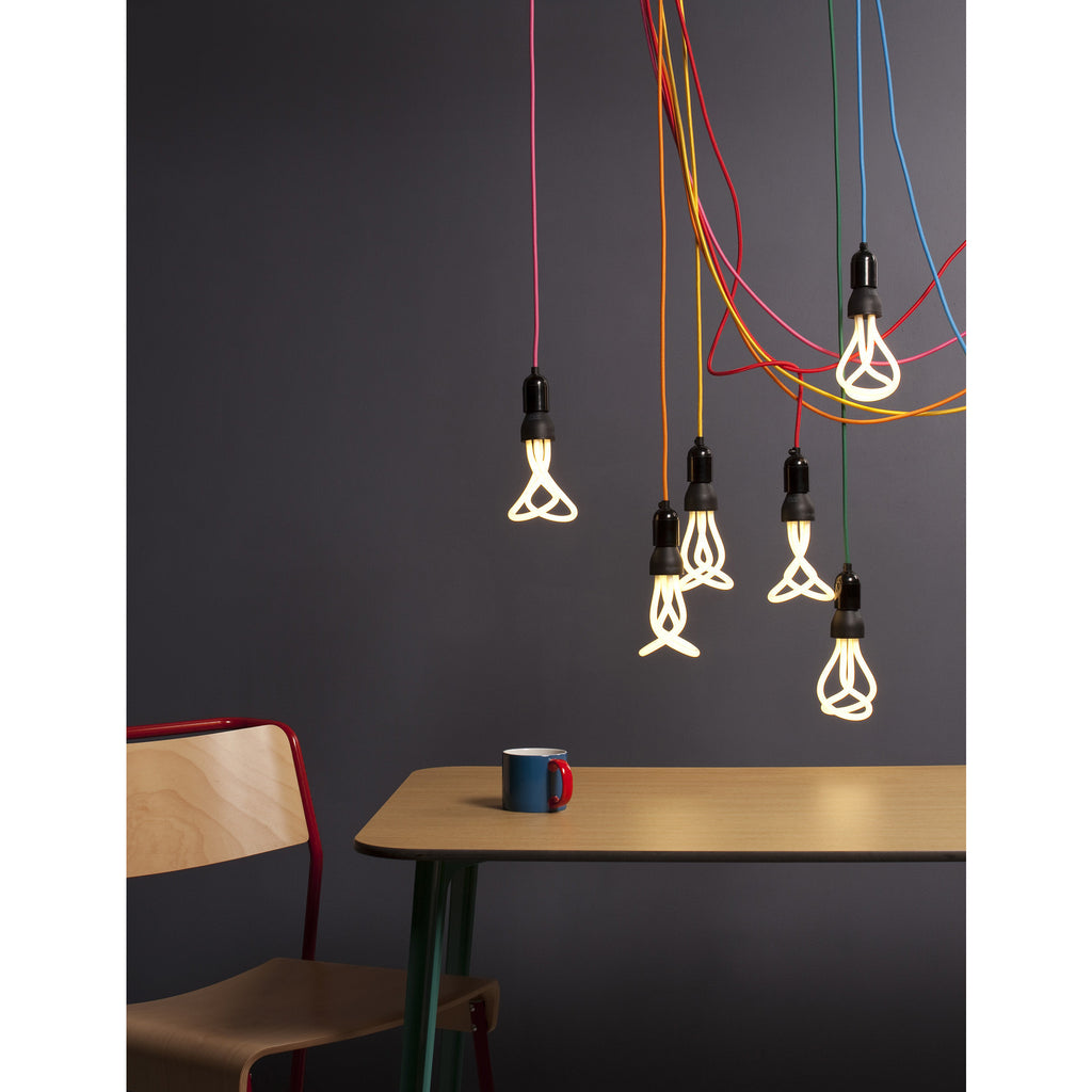 Plumen designer energy efficient light bulb
