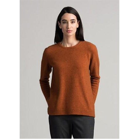 Women's possum merino wool and silk sweater, perfect for autumn and winter