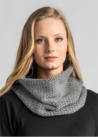 Knit Weave Snood