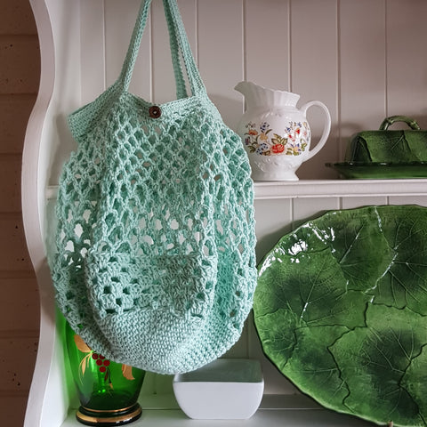 Beetroot Blanket Crocheted Bag