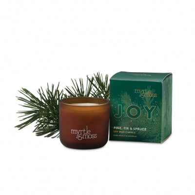 Myrtle & Moss | Merry Christmas Candle