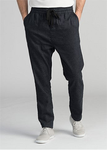 Wool Denim Jogger