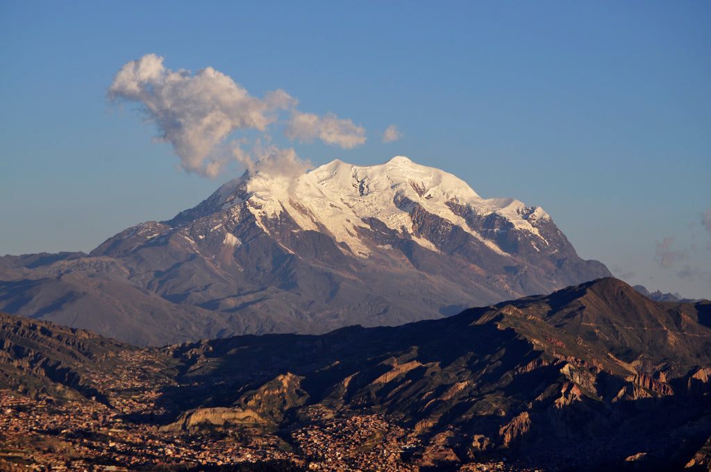 Trip Report: Failure on Illimani</p>                 <p class=
