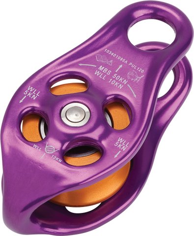 DMM Pinto Rig Pulley (Purple)