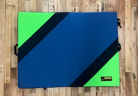 Organic Simple Crash Pad (Green/Blue)