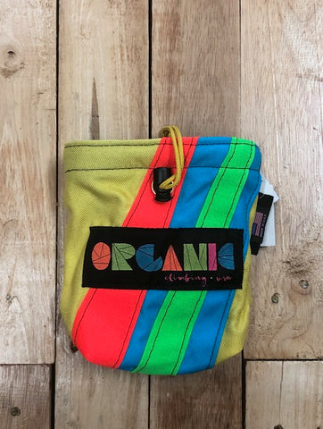 Organic Chalk Bag - Large (Yellow,Fluro Orange,Blue,FluroGreen)