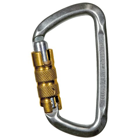 Climbing Technology Small D Triplock with Pin